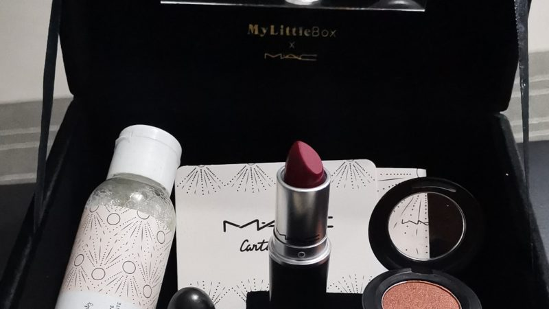 La box en collaboration avec Mac cosmetics